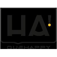 Logotipo Agencia Creativa QHA! de Madrid