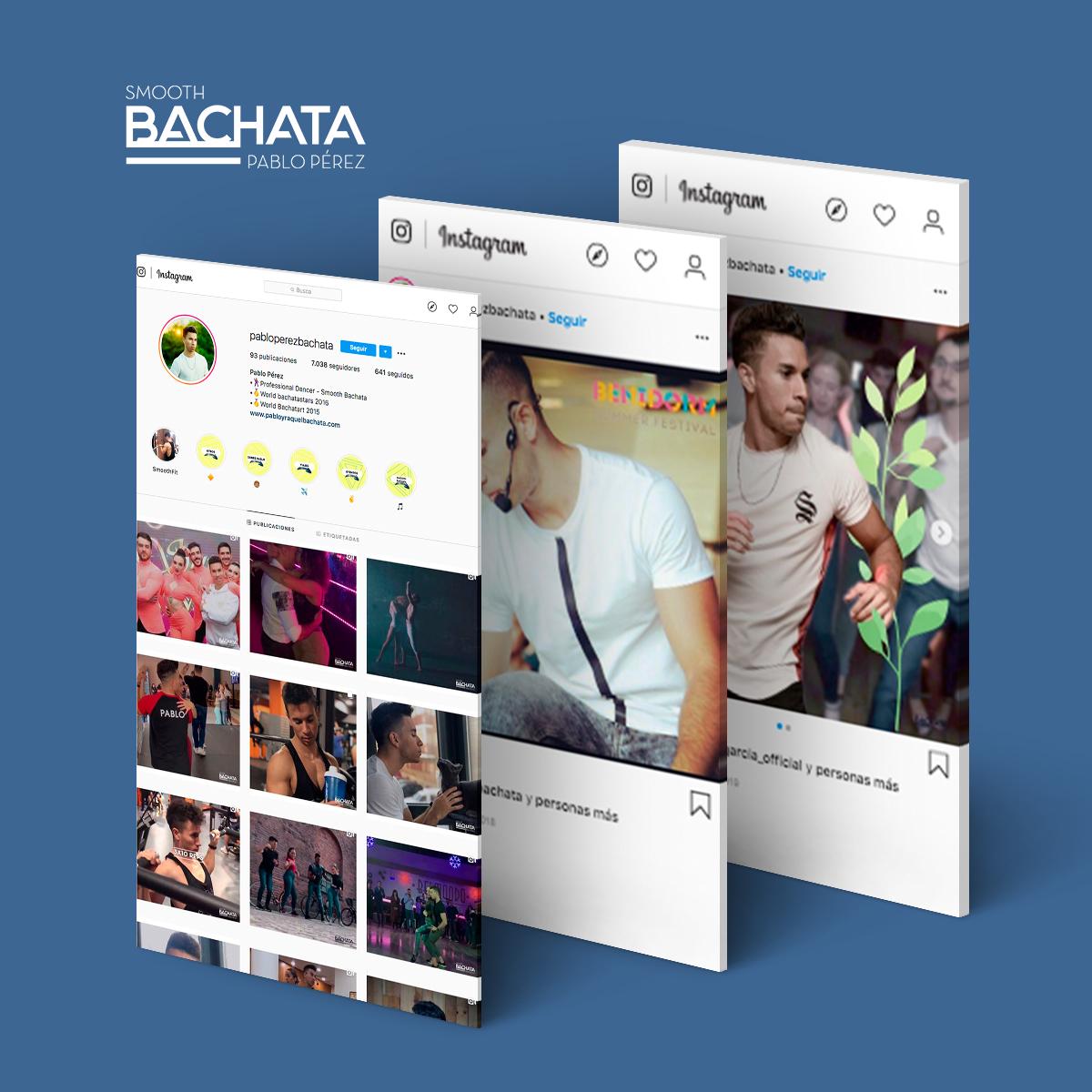 Diseño de redes sociales de@pabloperezbachata