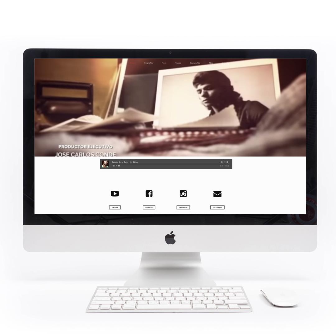 Diseño web responsive para la camaronvive.es