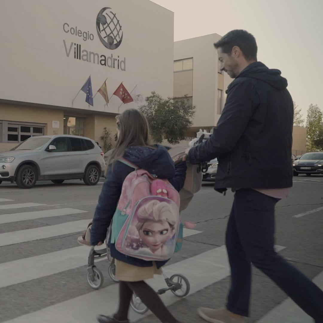 Spot publicitario para Colegio Villamadrid