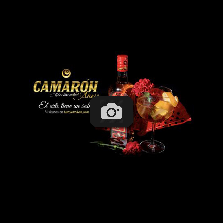 Fotografía publicitaria Ron Camarón