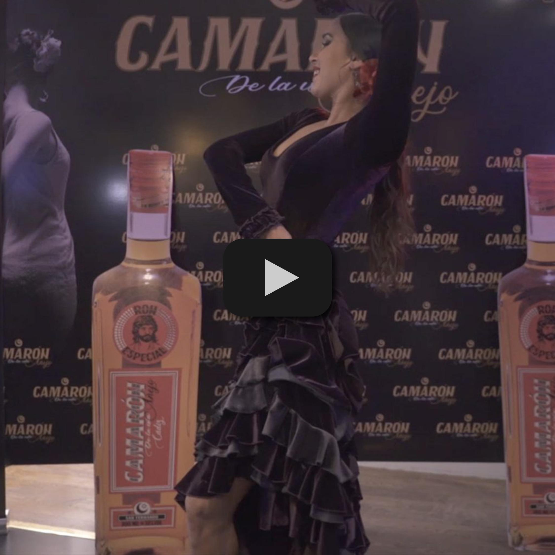 Grabación en vídeo del evento corporativo de Ron Camarón