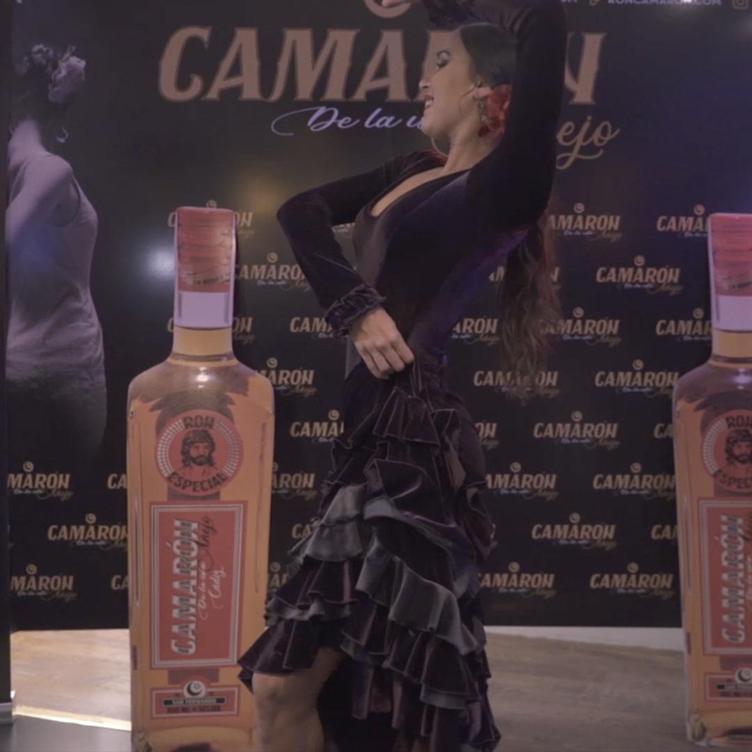 Grabación en vídeo del evento de Ron Camarón