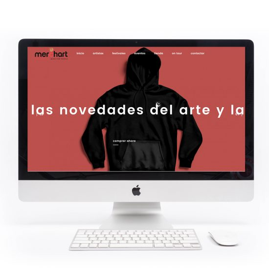 Diseño de eCommerce para merchart.es