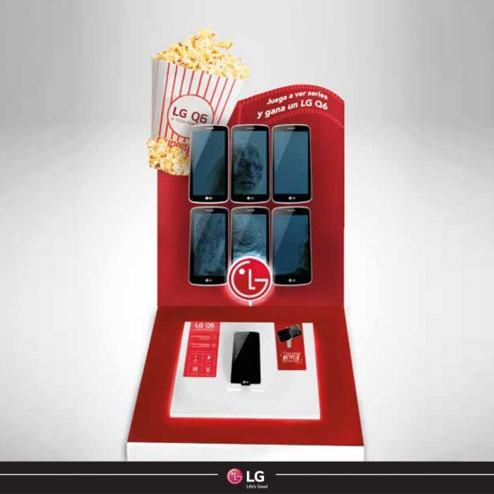 Campaña de marketing para LG
