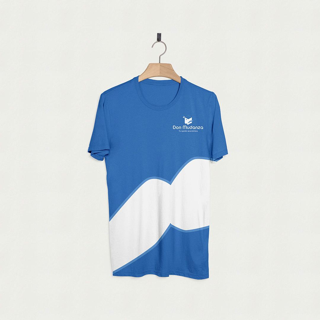 Diseño camiseta trabajo Don Mudanzas