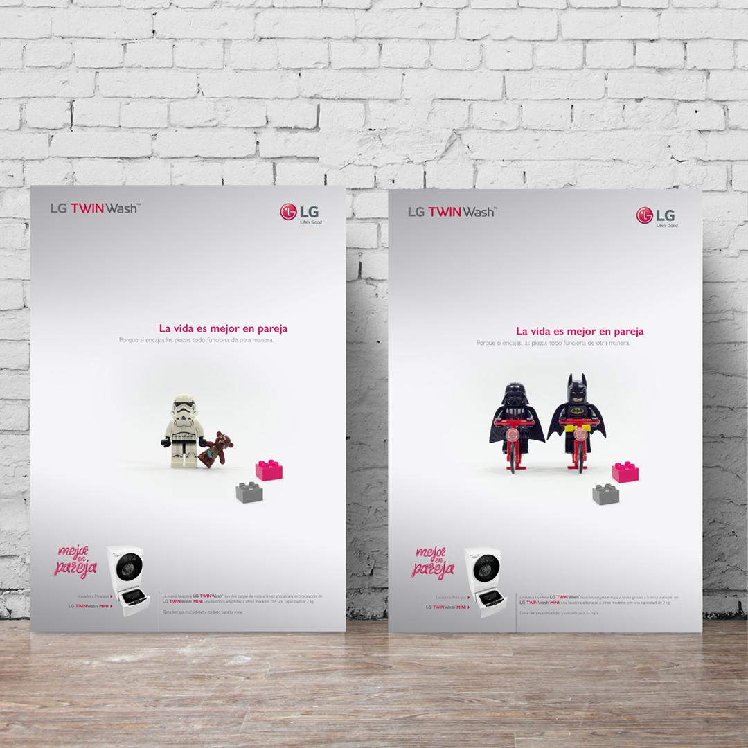 Diseño de campaña de marketing para LG