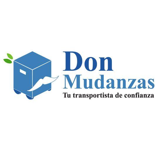 Diseño logotipo Don Mudanzas