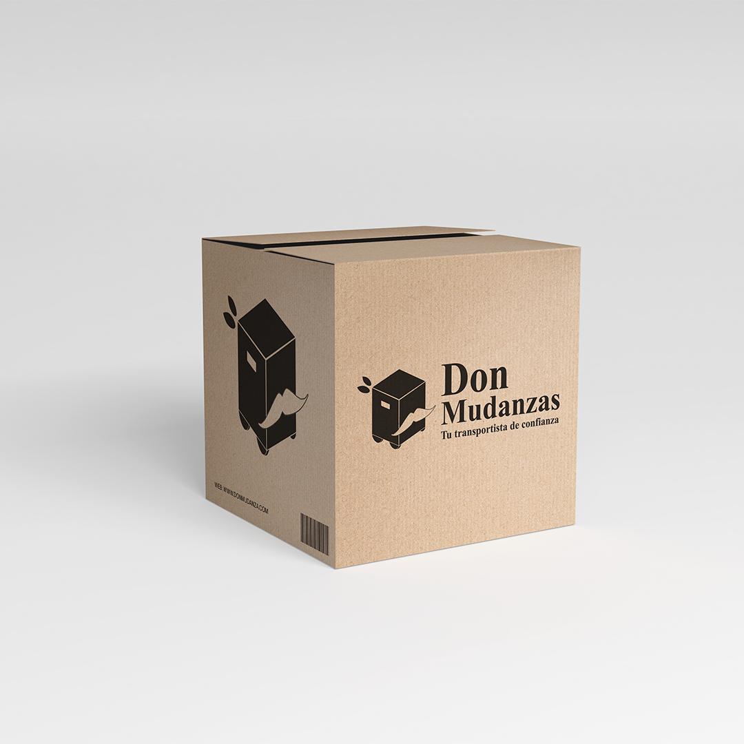 Diseño de packaging para Don Mudanzas